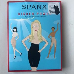 Spanx Higher Power High Waisted Panties Shaping A